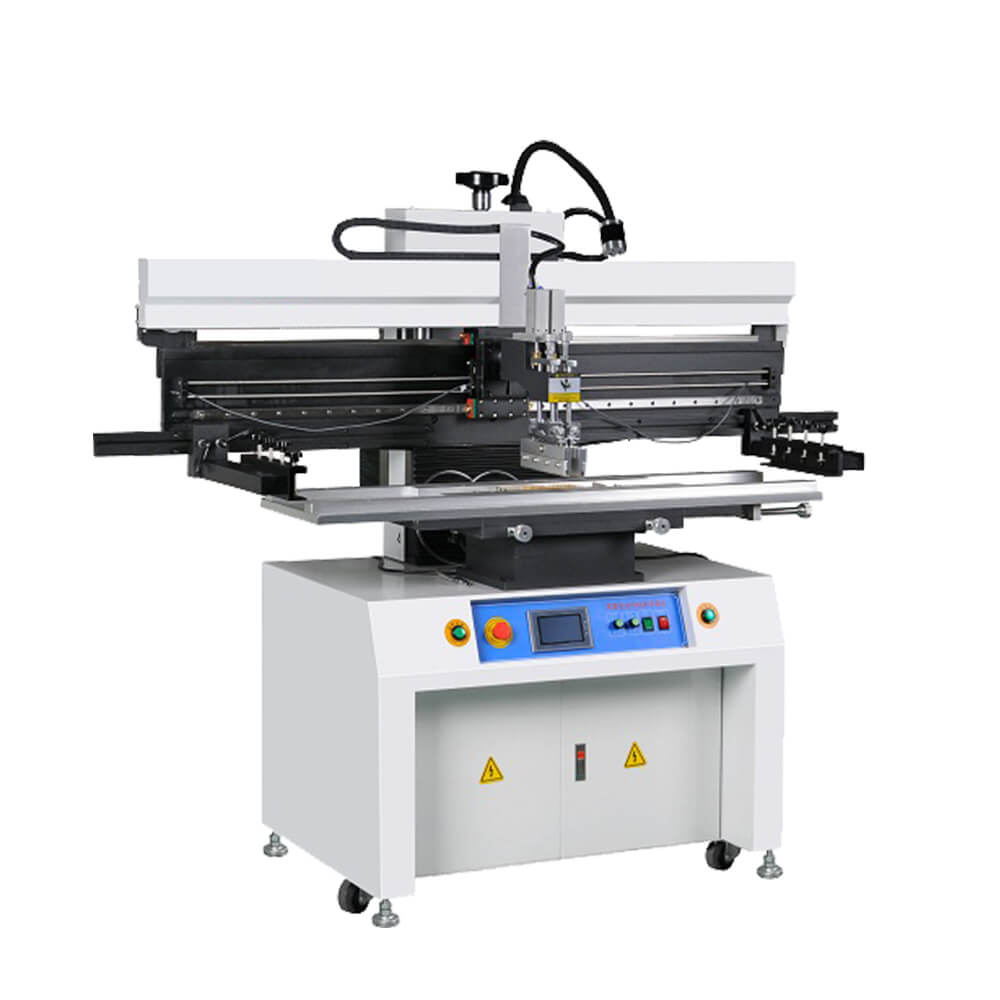 Touch screen Manual stencil printing machine