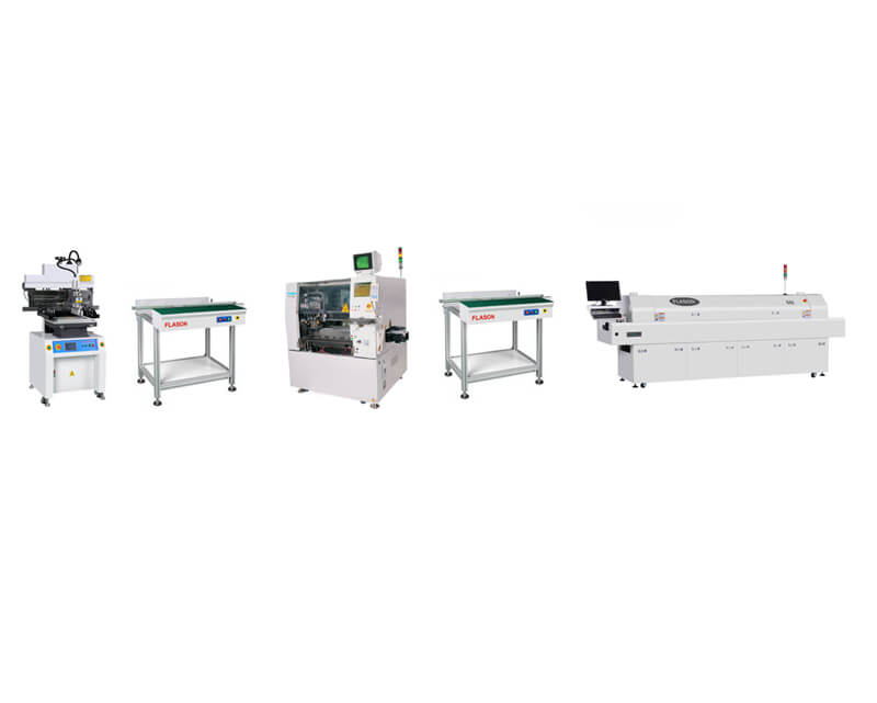 Semi Automatic SMT Assembly line