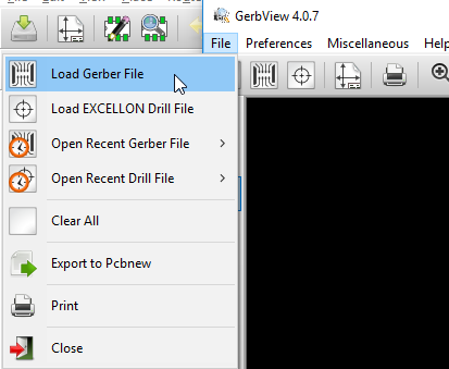 load gerber file